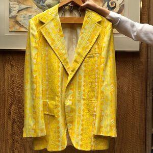 Rare Lilly Pulitzer Yellow Sports Jacket